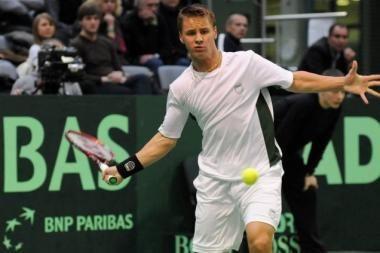 Geriausių pasaulio tenisininkų ATP reitinge R.Berankis 195-as