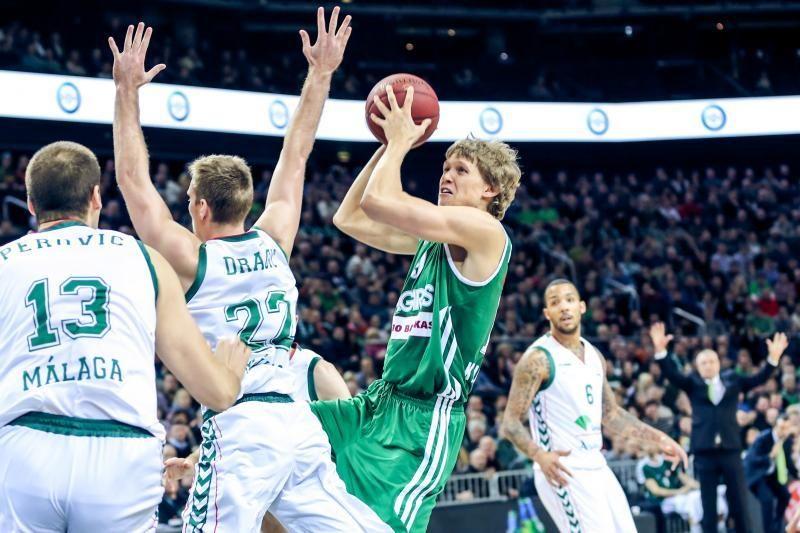 M. Kuzminskas - tarp naudingiausių Eurolygos savaitės krepšininkų