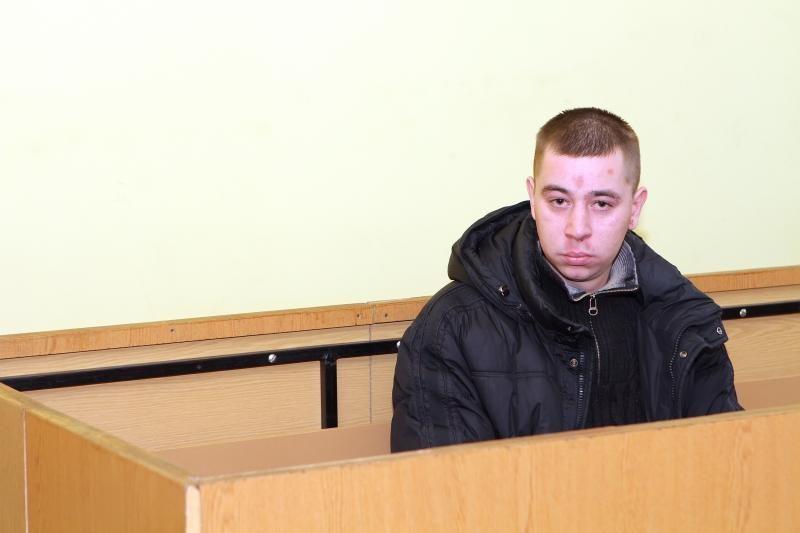 Nuteistas už tėvo nužudymą klaipėdietis supyko