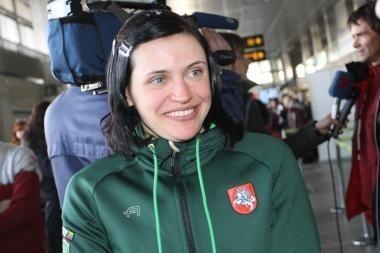Biatlonininkė D.Rasimovičiūtė olimpiados sprinto varžybose liko 25-ta