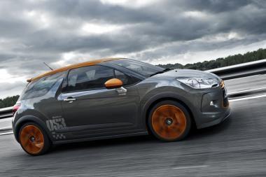 """Tūkstantis """"Citroën DS3 Racing"""" – metų pabaigoje"""