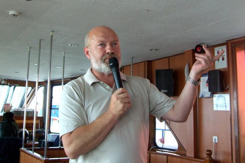 Ekskursijose po Klaipėdos uostą – anšlagas