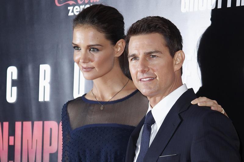 Holivudo poros Tomo Cruise'o ir Katie Holmes santuoka griūva?