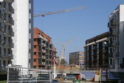 Butų pastatyta daugiau, tačiau statybų tempai lėtėja