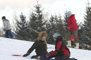 Orai Kaune: žiemos pabaigos dar nematyti