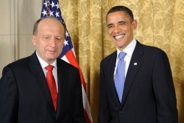 B.Obama žino lietuvių krepšininkus