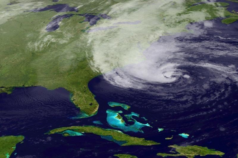"""""""Frankenštormas"""": kodėl uraganas Sandy toks didelis?"""