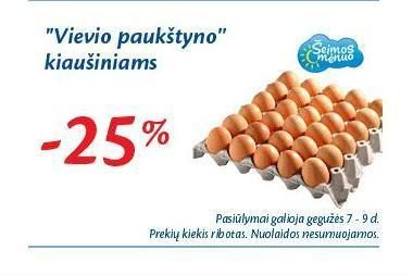 """""""Maxima"""" gėjų eitynių dieną taikys nuolaidą kiaušiniams (papildyta)"""