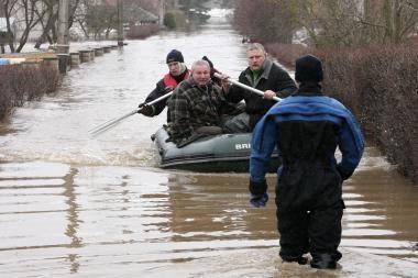 Potvynio nuostoliams padengti reikia beveik 1,9 mln. litų