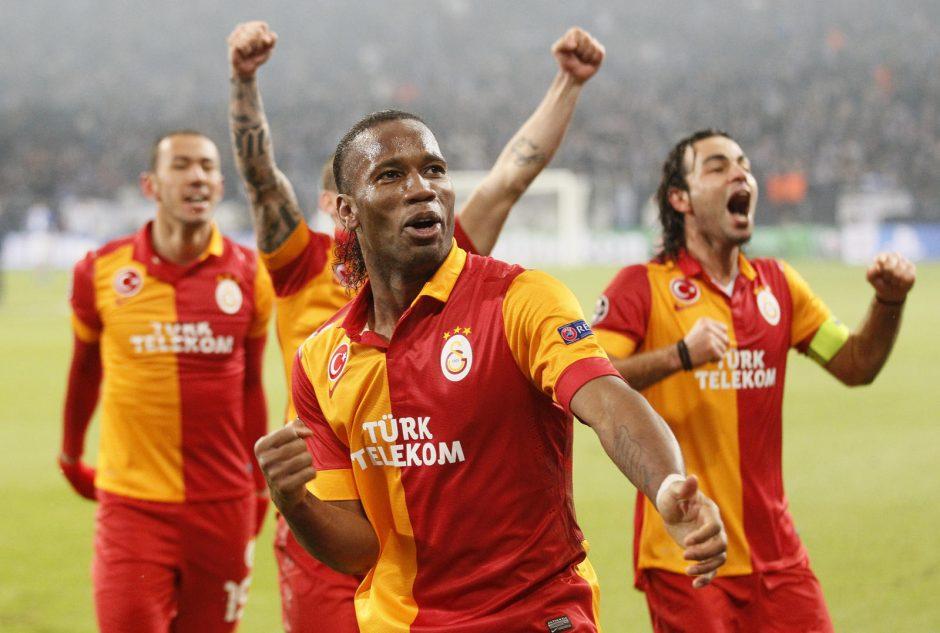 """Čempionų lygos Įvarčių fiestoje - """"Galatasaray"""" triumfas"""