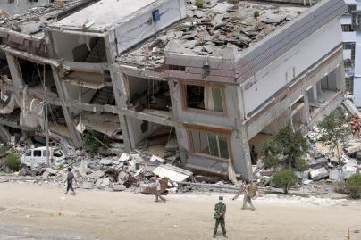 Olimpiados išvakarėse – naujas žemės drebėjimas