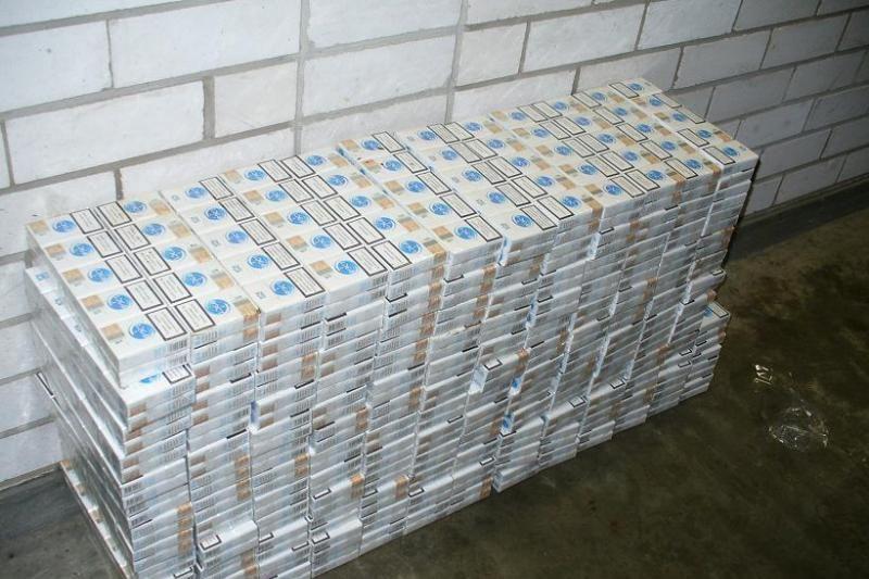 Kontrabandines cigaretes įmonė Vilniuje sunaikina ne visada?