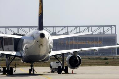 Vokietijos oro uoste vos išvengta tragedijos