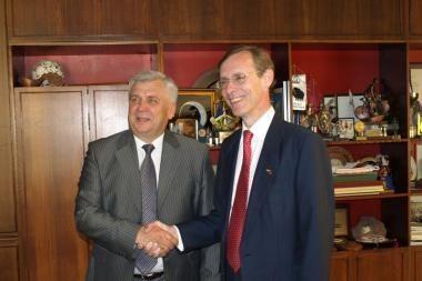 Britanijos ambasadorių domino Klaipėdos ekonomika