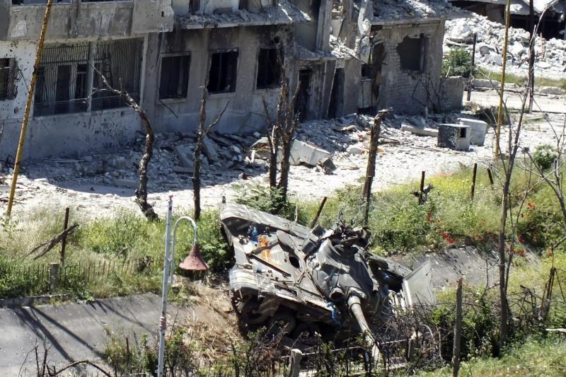 Sirijos premjeras liko gyvas per automobilio sprogdinimą Damaske