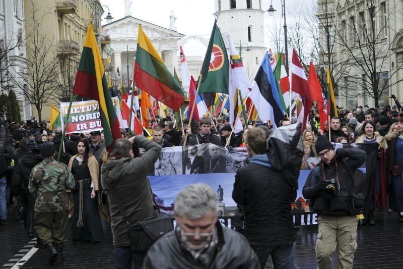 Vilniaus valdžia nacionalistų eitynes siūlo iškelti iš centro