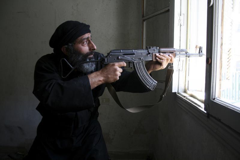 JT: Sirijos sukilėliai naudojo zarino dujas