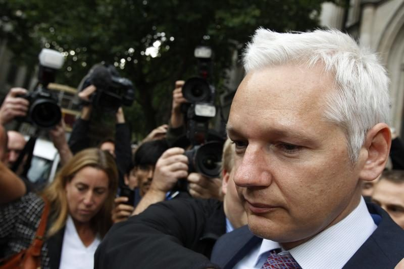 J.Assange'as išgirdo neigiamą teismo atsakymą