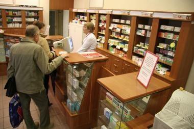 R.Šukys: kainų monitoriai vaistinėse - mėnesiu vėliau