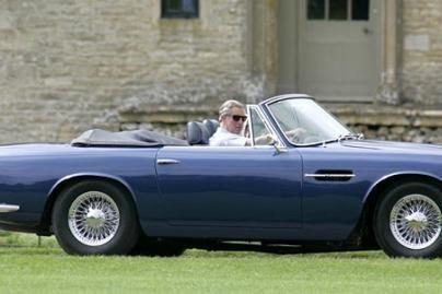 Princo Charleso automobilis varomas vynu