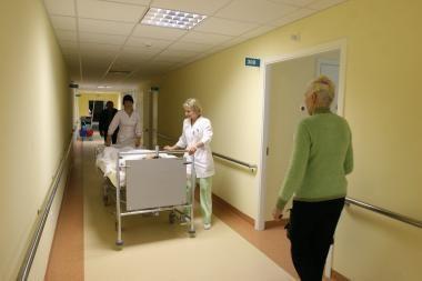 Vilniuje į ligoninę paguldytas vyras su kirstine žaizda galvoje