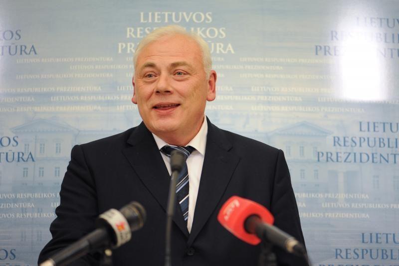 Vidaus reikalų ministras lankosi potvynio apsemtame pamaryje