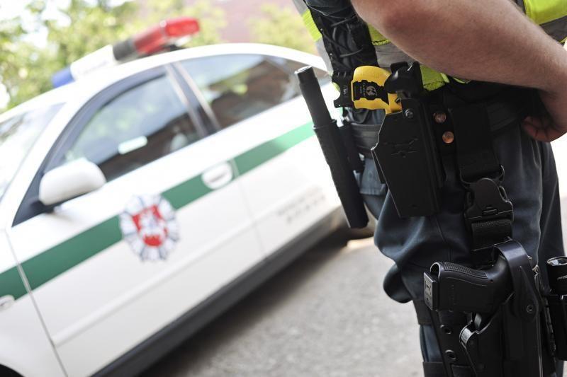 Marijampolėje neblaivų vairuotoją policiją stabdė šūviais
