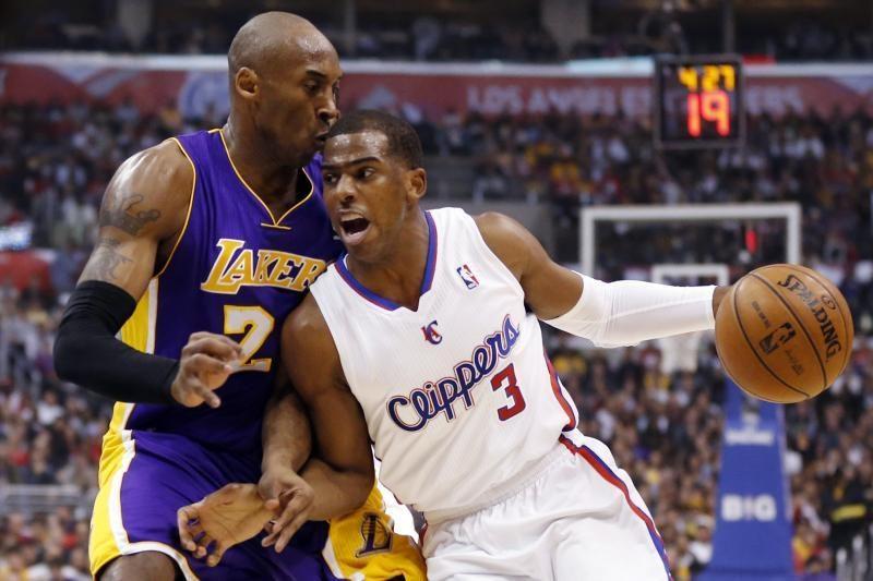 """Los Andželo derbyje triumfavo """"Clippers"""", čempionai ir vėl parklupdyti"""