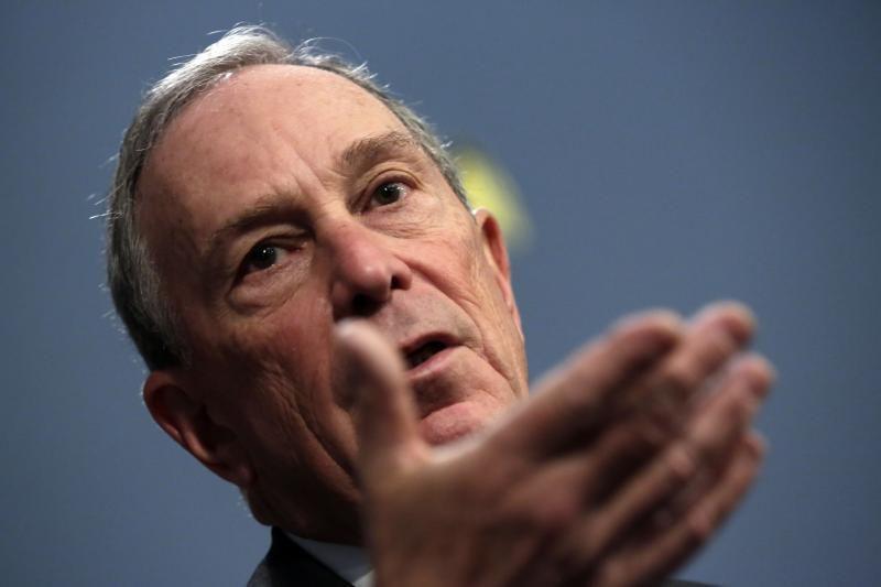Susižavėjęs Niujorko meras M. Bloombergas: pažiūrėkite į jos užpakalį