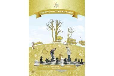 J.L.Vynerio fondas kviečia pavasarį į Skulptūrų parką