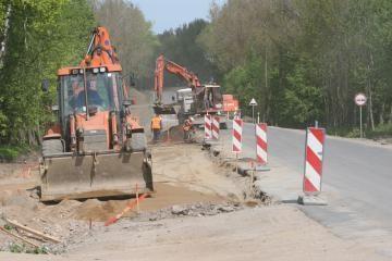 Vairuotojams kilometrą Ukmergės-Jonavos kelio teks apvažiuoti