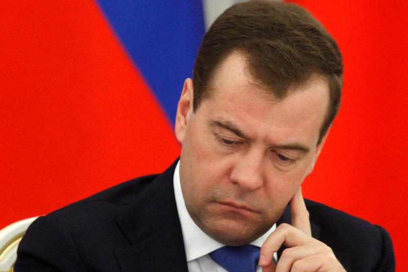 D.Medvedevas dėl nugirsto pokalbio tapo pašaipų objektu savo šalyje