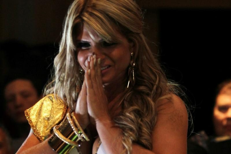 Gražiausio užpakaliuko Brazilijoje savininkė liejo džiaugsmo ašaras