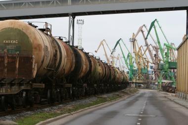 Brangesni tarifai gali sumažinti per Rusiją į Klaipėdą keliaujantį krovinių srautą