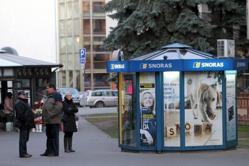 """Lietuvos paštas: buvę """"snoriukai"""" pradės veikti metų pabaigoje"""