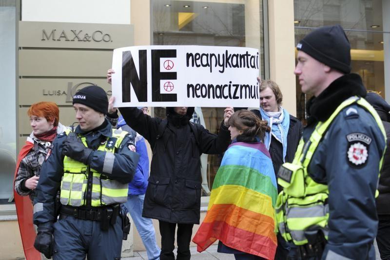 Policija: rengti gėjų eitynes Gedimino prospekte būtų rizikinga