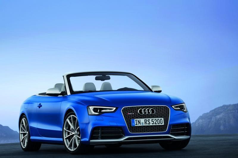 """""""Audi"""" pristatė naujausią kabrioletą - """"RS 5 Cabrio"""