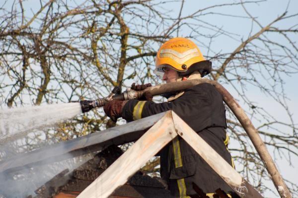 R.Palaitis: Lietuvoje savanorių ugniagesių atsiras po trejų ketverių metų