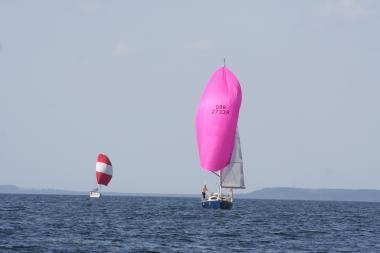 Pirmą kartą surengta Pilies uosto regata taps tradicine
