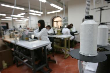 Tekstilės pramonė auga labiausiai iš visų pramonės sektorių