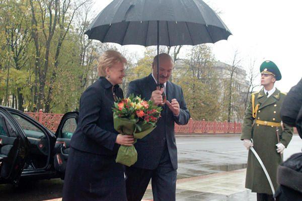 Europa atsiveria Baltarusijai, ir tai geras signalas, sako Lietuvos prezidentė