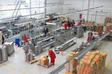 Vilniuje oficialiai atidaryta nauja gamykla