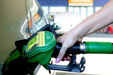 Benzinas didmeninėje rinkoje per dvi dienas pabrango 12 centų