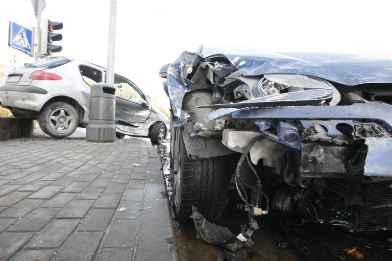 Avarijų Klaipėdoje bumas - dėl vairuotojų neatidumo