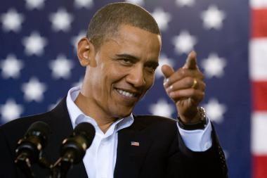 B.Obama pasveikino Lietuvą su Kovo 11-ąja