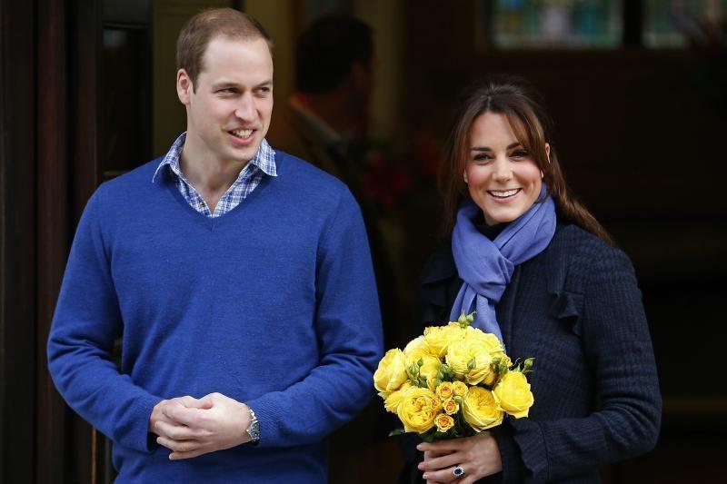 Princo Williamo ir Kate kūdikis turi gimti liepą