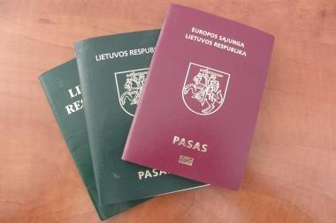 Išeiviai: negalima prievarta atiminėti Lietuvos pilietybės