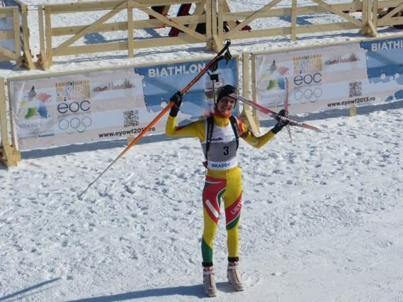 Biatlono viltis iš Vilniaus: mano planuose – olimpinės žaidynės