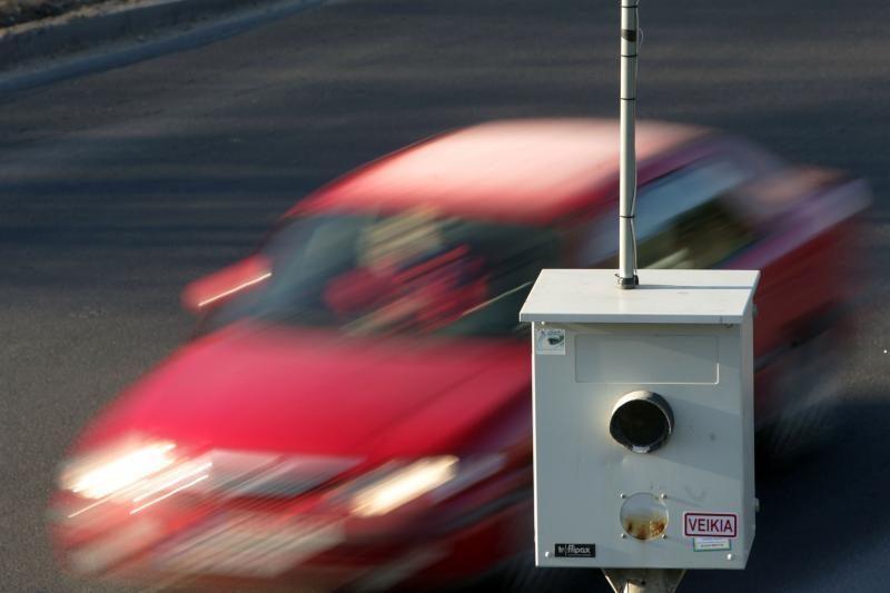 Vilniuje planuojama įrengti daugiau greičio matuoklių