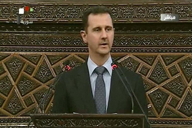 Sirijos prezidentas neigia savo vyriausybės vaidmenį Hulos žudynėse